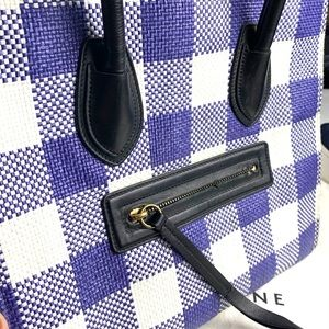 Celine | Woven Phantom Luggage Medium VGUC